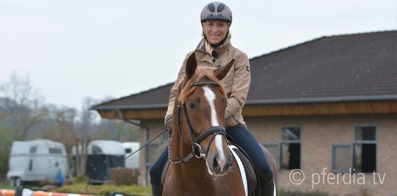 Ingrid Klimke Reiten ohne Sattel