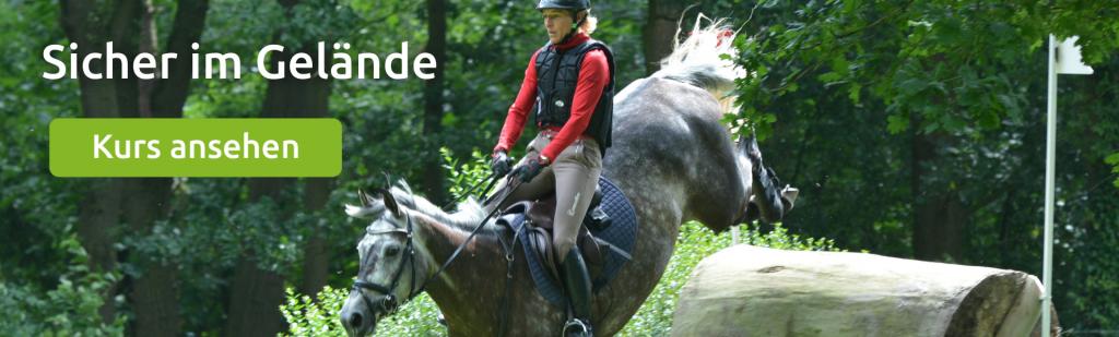 Kurs: Sicher im Gelände, Pferd geht durch