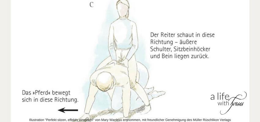 Sitzschulung Reiten Mary-Wanless-System
