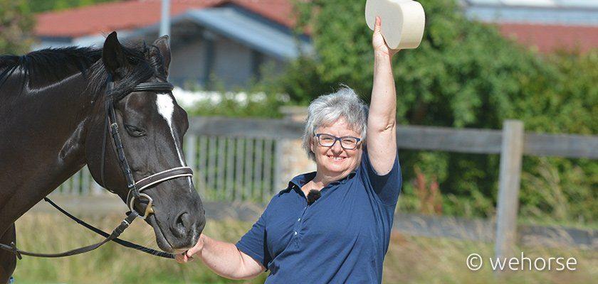 Das Pferd profitiert vom fitten Reiter