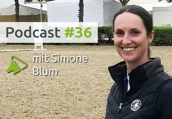 Simone Blum, Weltmeisterin im Springreiten, im wehorse-Podcast