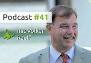Volker Raulf, Gutachter und Auktionator, im wehorse-Podcast
