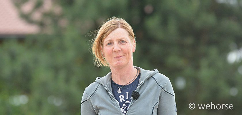 Eva Deimel Springreiten