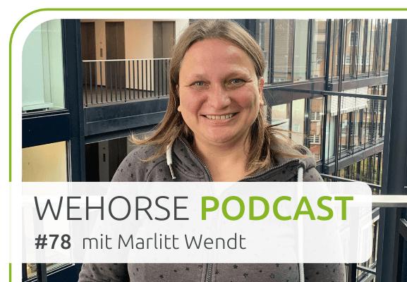 wehorse-Podcast mit Marlitt Wendt