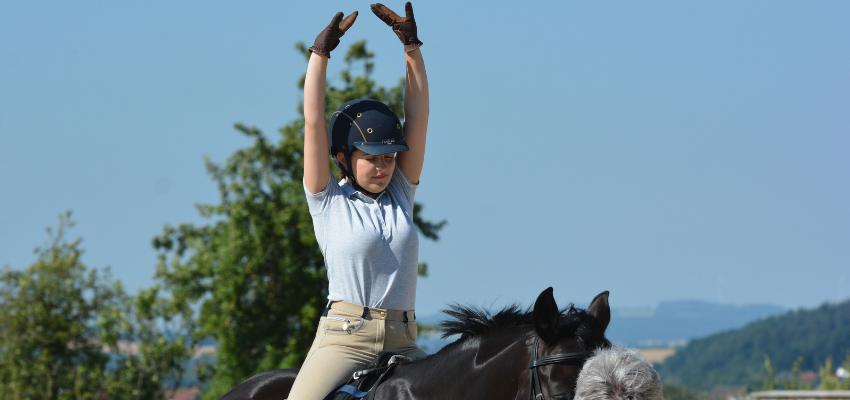 Übungen zur Verbesserung des Reitersitzes