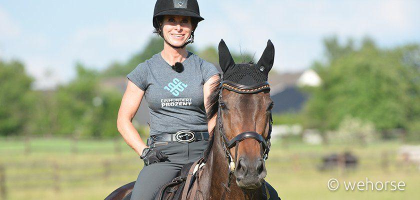 Fitness für Reiter: Die Expertin Bettina Hoy