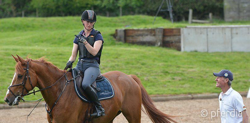 Das Pferd geht durch? Chris Bartle gibt Sandra Auffarth Tipps