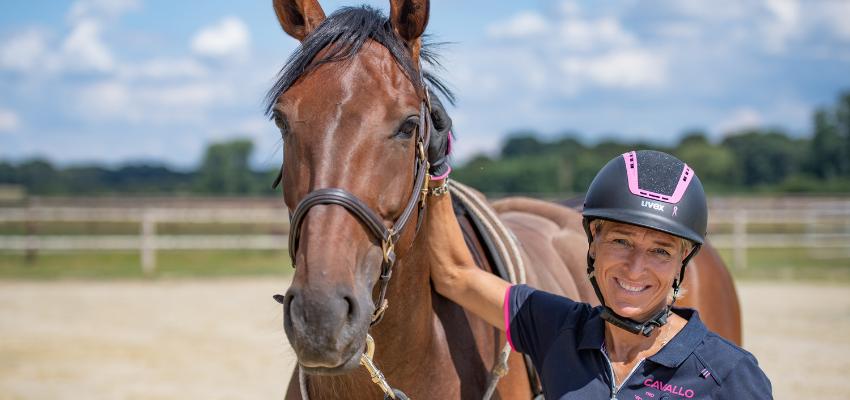 Ingrid Klimke weiß Rat, wenn das Pferd scheut