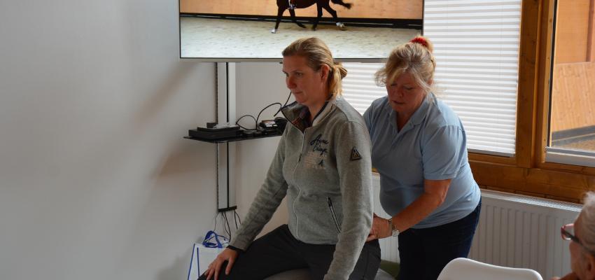 Besser reiten lernen mit Elaine Butler