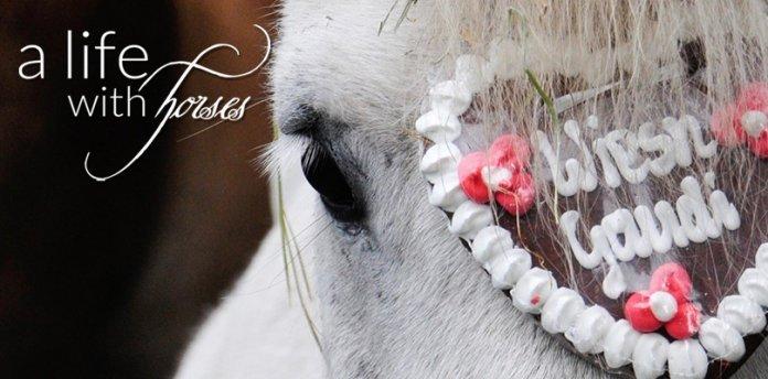 Oktoberfest-Pferd